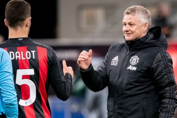 Manchester United manager Ole Gunnar Solskjaer has revealed. The Portuguese full-back Diogo Dalot benefited from a loan at Milan last season.