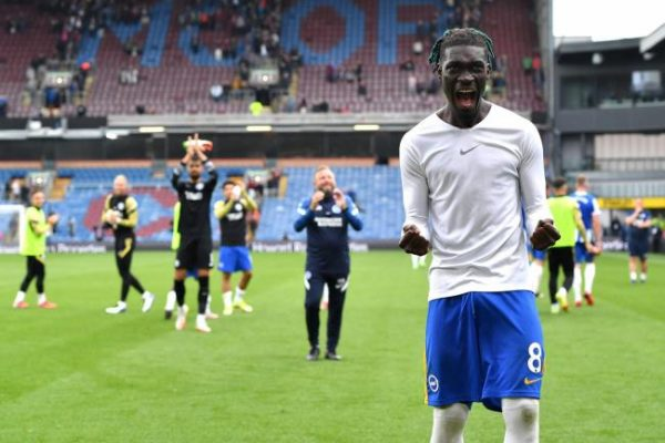 Ives Bissouma reiterated that he was still happy playing for Brighton