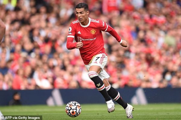 Manchester United superstar Cristiano Ronaldo had his fastest pace at 20.2 mph in the opening game of the second division on Saturday.